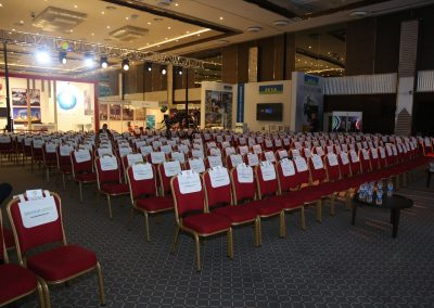 Conference Hall Chairs Partnership Package